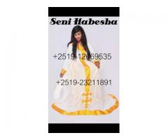 Tradtional clothes (seni habesha)