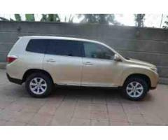 2013 Toyota Highlander for sale duty-free