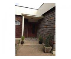 Three bed room, two bathroom villa for rent in Bole